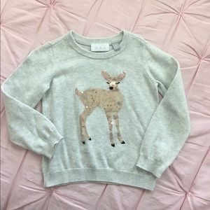 Children's Place Toddler Girls Embellished Sweater